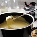rsses Appenzeller Fondue im Caquelon